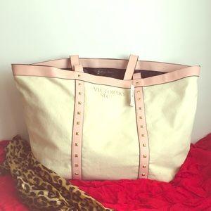 MAKE OFFER Victoria's Secret large tote bag